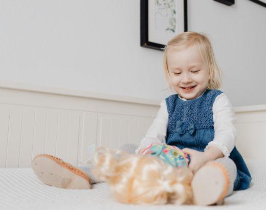 Savoir reconnaitre les signes d'un bébé heureux